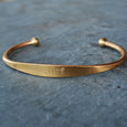 """Surf"" Engraved Men's Bracelet - Jook & Nona - New York Makers"