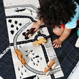 Village and Train Play Mat