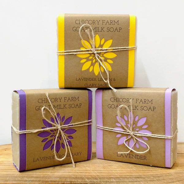 Lavender Soap Sampler - Chicory Farm Soap - New York Makers