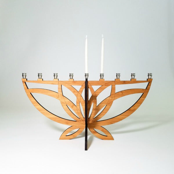 Lotus Flower Menorah - GioGio Design - New York Makers