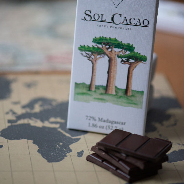 72% Madagascar Dark Chocolate - Sol Cacao - New York Makers