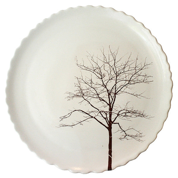 Porcelain Sitges Tree Dinner Plate