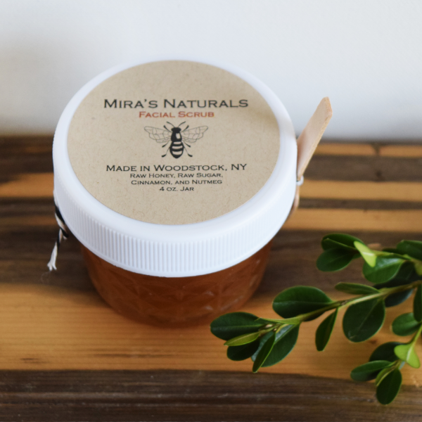Raw Honey Facial Scrub