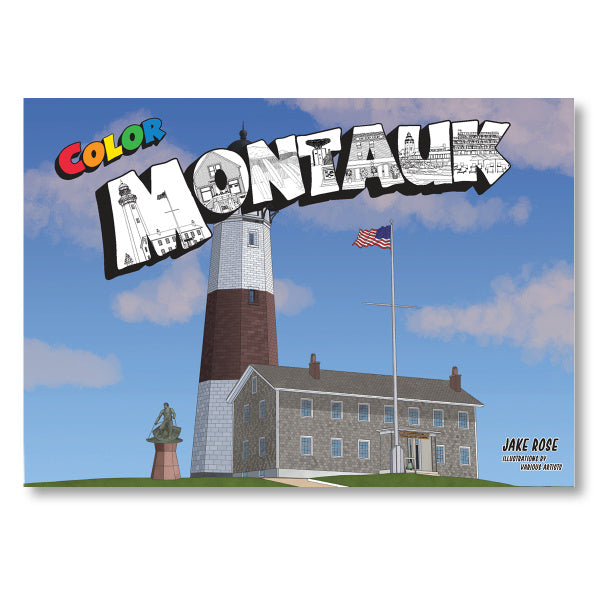 Montauk Coloring Book