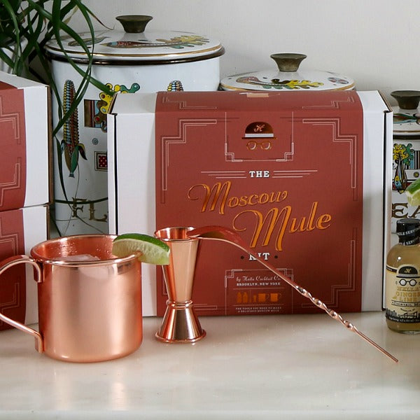 Moscow Mule DIY Cocktail Kit - Hella Cocktail Co. - New York Makers