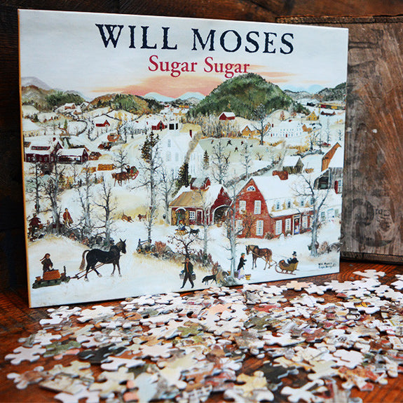 """Sugar Sugar"" Jigsaw Puzzle - Mt. Nebo Gallery - New York Makers"