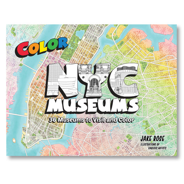 NYC Museums Coloring Book