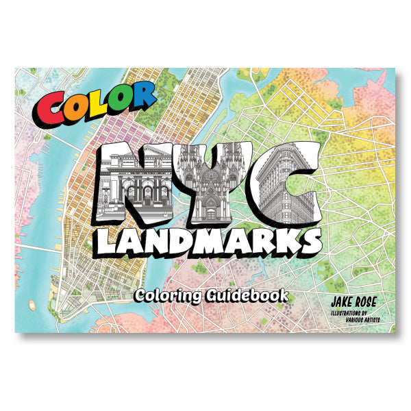 NYC Landmarks Coloring Guide Book