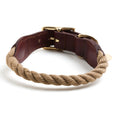 Rope Collar for Dog and Cat in Natural