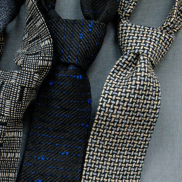 Handwoven Necktie - frittelli & LOCKWOOD - New York Makers