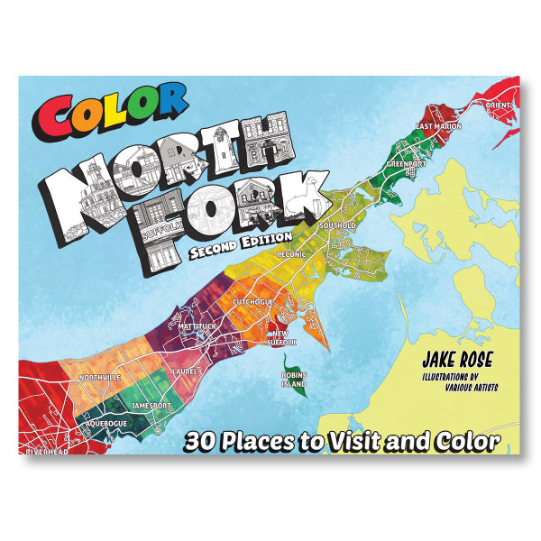 North Fork Coloring Book