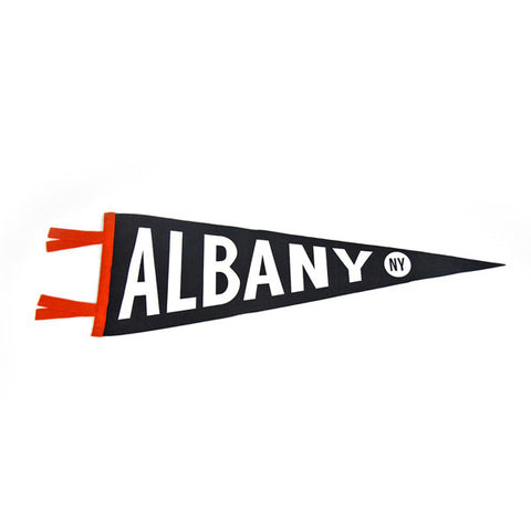 """Albany"" Vintage-Inspired Pennant"