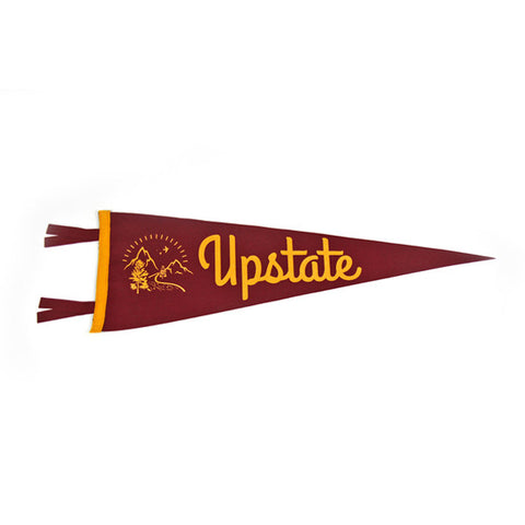 """Upstate"" Vintage-Inspired Pennant"