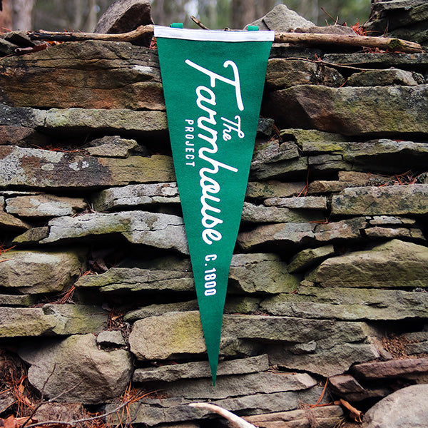 The Farmhouse Pennant - The Farmhouse Project - New York Makers