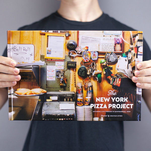 """The New York Pizza Project"" Book"