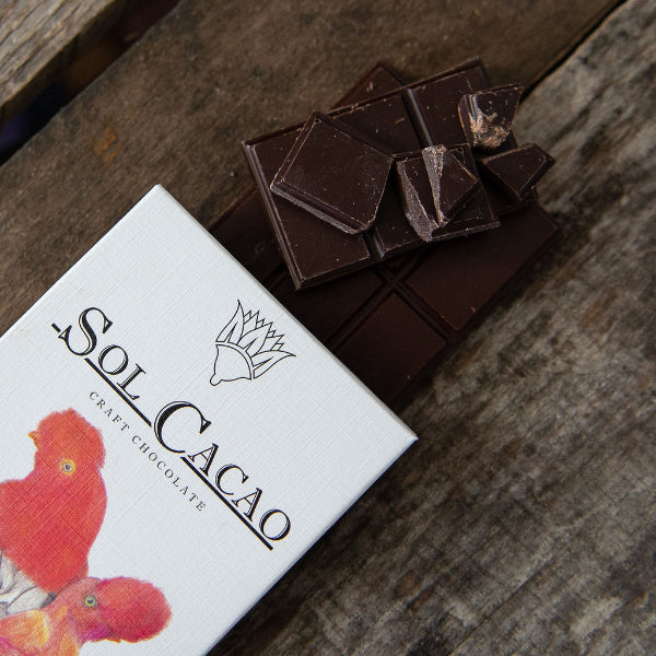 70% Peru Dark Chocolate - Sol Cacao - New York Makers