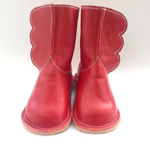 Toddler Winged Boots in Multiple Colors - Chickpea Kid - New York Makers