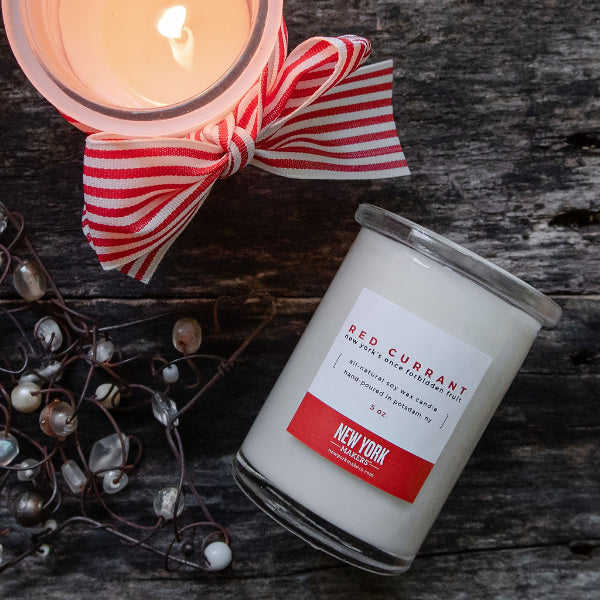 Red Currant Candle - New York Makers - New York Makers