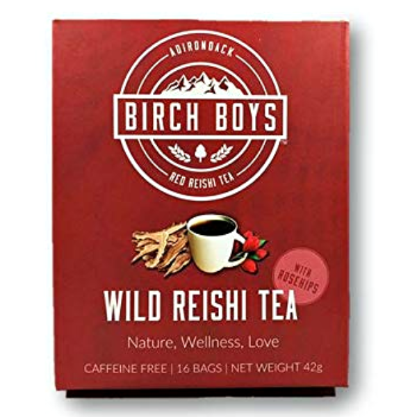 Reishi & Rose Hips Tea - Birch Boys Chaga - New York Makers