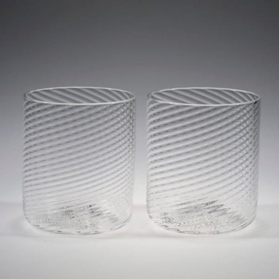 Handblown Cocktail Glasses - Tom Stoenner Glass - New York Makers