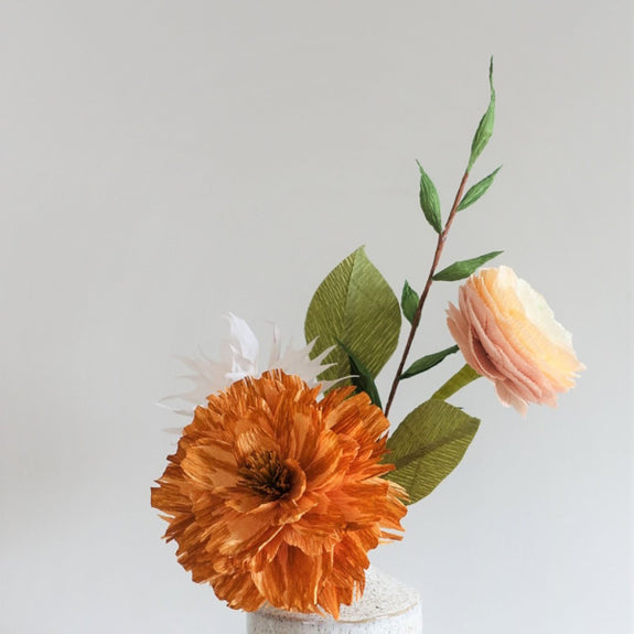 Saratoga Paper Flower Bouquet