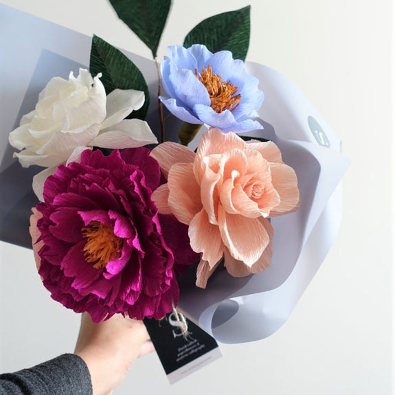 Lake George Paper Flower Bouquet