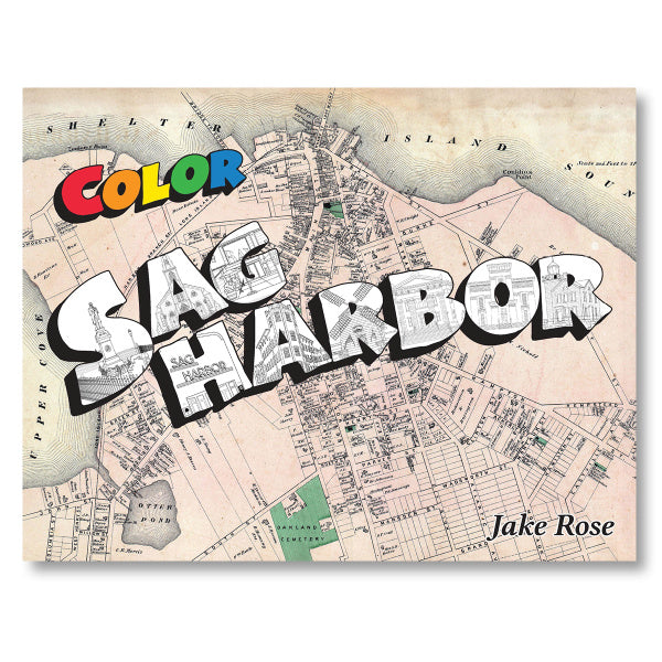 Sag Harbor Coloring Book