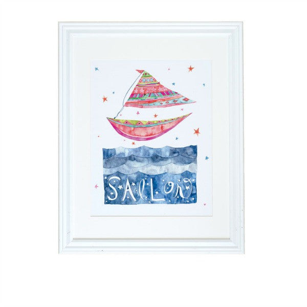 """Sail On"" Art Print"