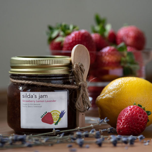 Silda's Strawberry Lemon Lavender Jam