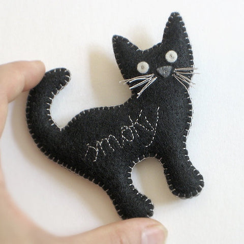 Cat Keepsake Ornament