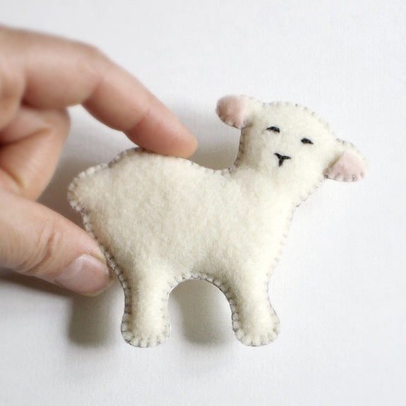 Lamb Keepsake Ornament