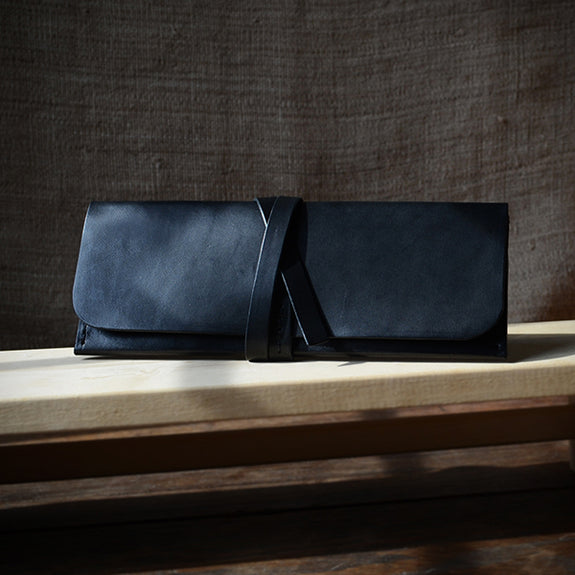 Slim Wrap Leather Wallet No.3 - Talouha - New York Makers