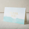 """Vista"" Foil Stamped Thank You Cards"