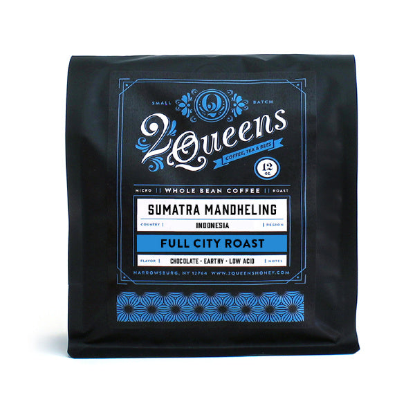 Organic Sumatra Coffee - 2 Queens - New York Makers