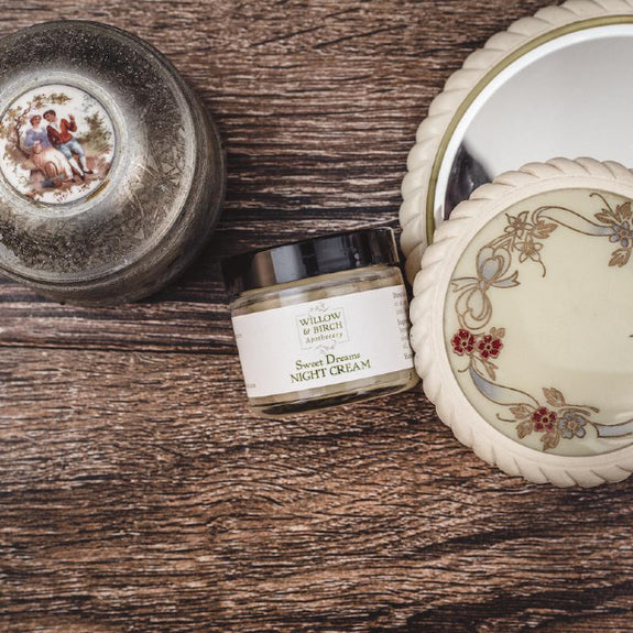 Sweet Dreams Night Cream - Willow & Birch Apothecary - New York Makers