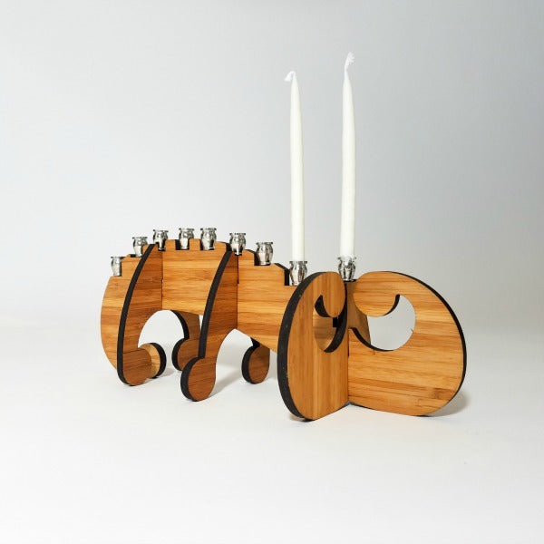 Swirl Menorah - GioGio Design - New York Makers