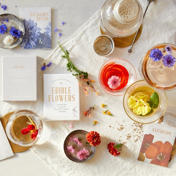 Edible Flower Kit - The Floral Society - New York Makers