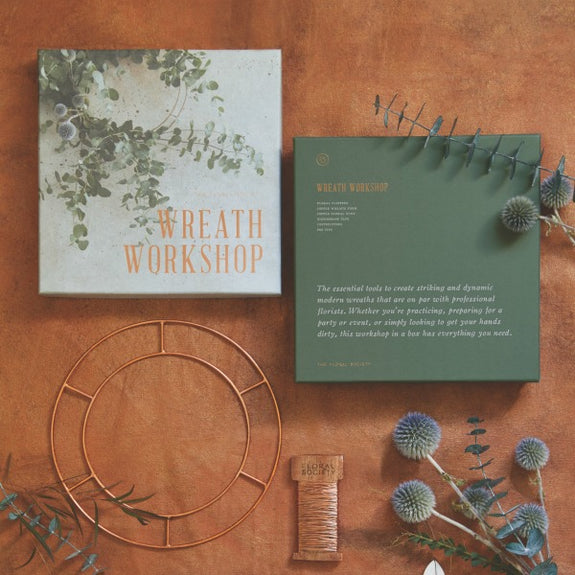 Wreath Workshop - The Floral Society - New York Makers