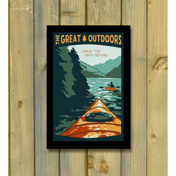 The Great Outdoors 'Leave the Path Behind' Print