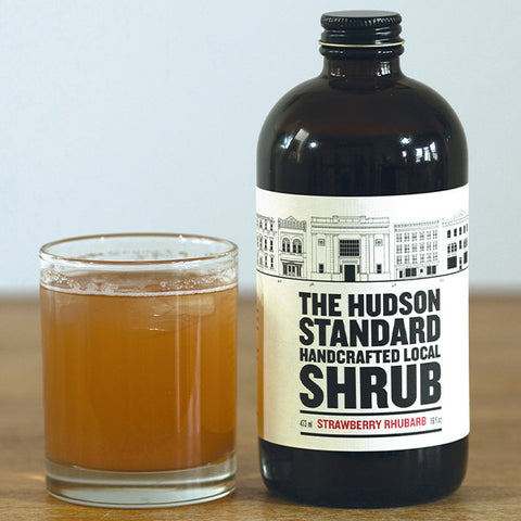 Strawberry Rhubarb Shrub