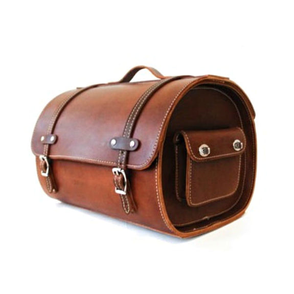 Leather Train Case in Multiple Colors