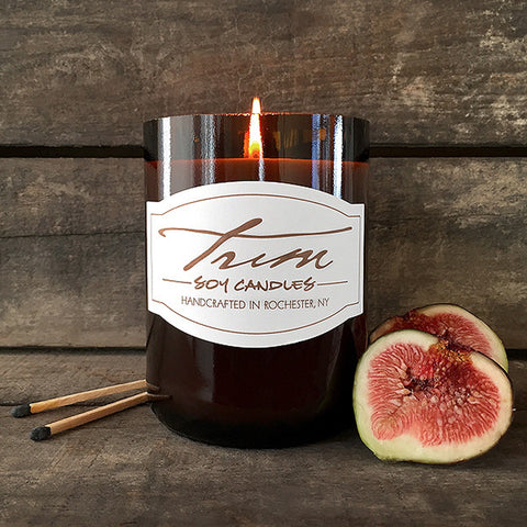Fig and Rhubarb Candle