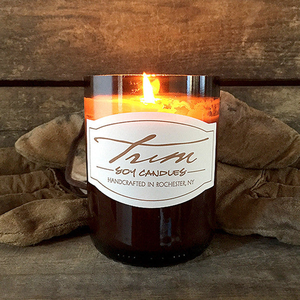 Leather-Scented Candle