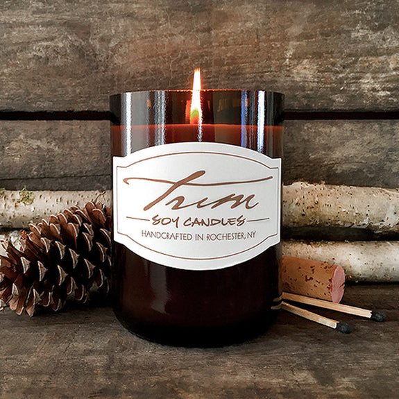 Winter Birch Candle