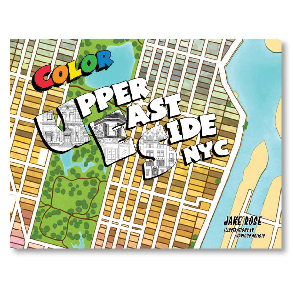 Upper East Side Coloring Book