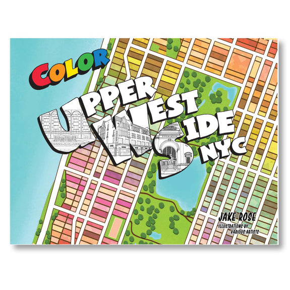 Upper West Side Coloring Book
