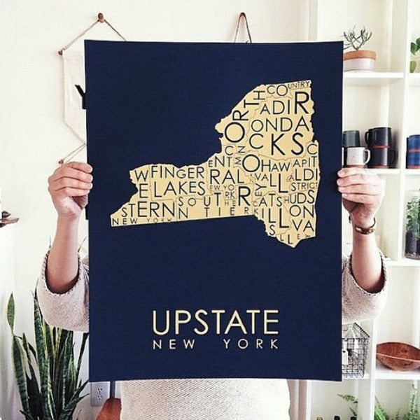 Upstate Poster in Multiple Colors