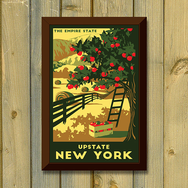 Upstate New York Print