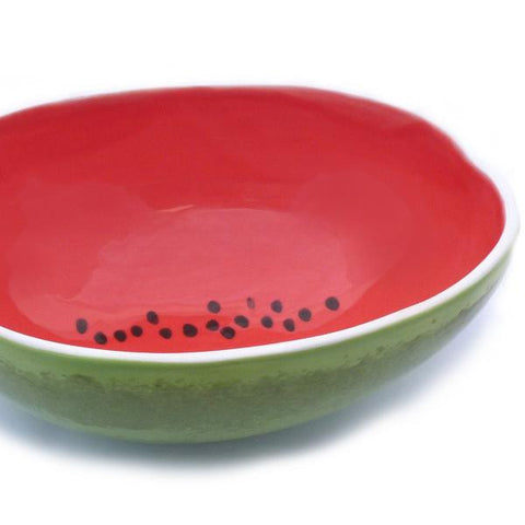 Watermelon-Sculpted Serving Bowl