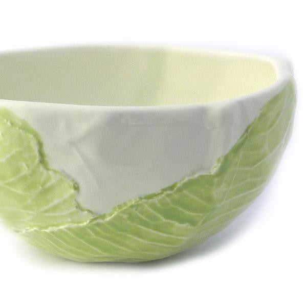 Cabbage-Sculpted Bowl